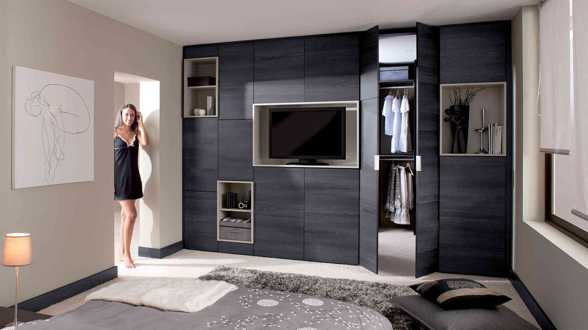 Excellent Plan Dressing Chambre With Plan Dressing Chambre